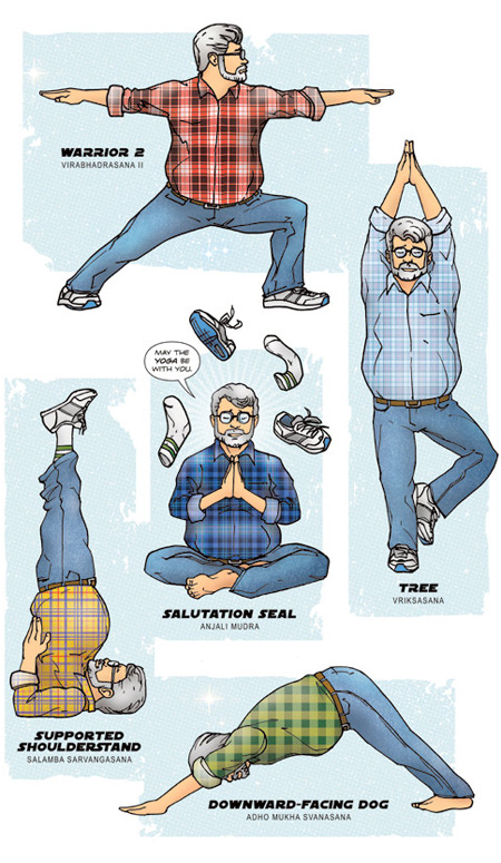 George Lucas Yoga