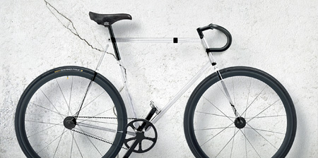 Transparent Bicycle