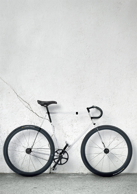 Transparent Bicycle Frame