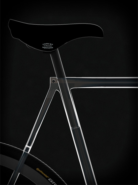 Transparent Bike Frame