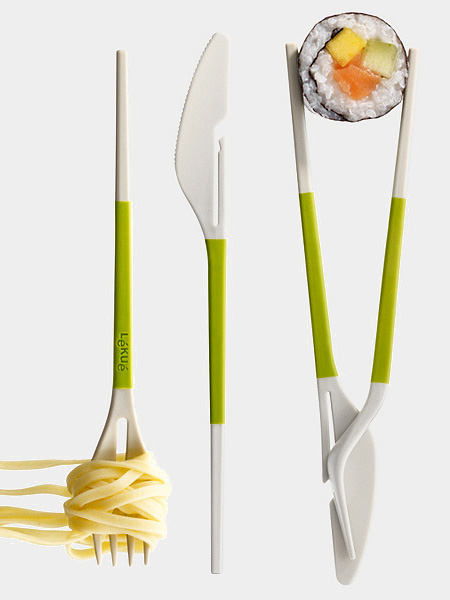 Lekue Twin One Utensils