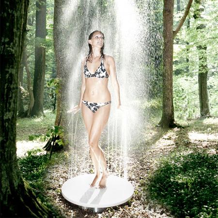 Upsidedown Shower