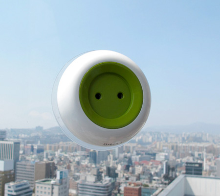 Solar Powered Electrical Outlet