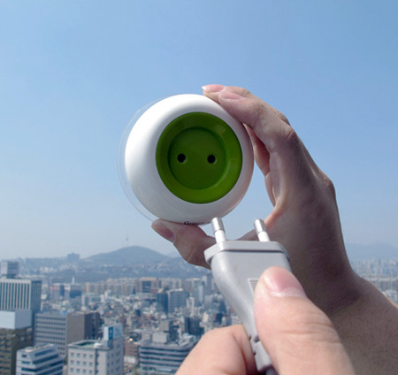Solar Powered Electrical Socket