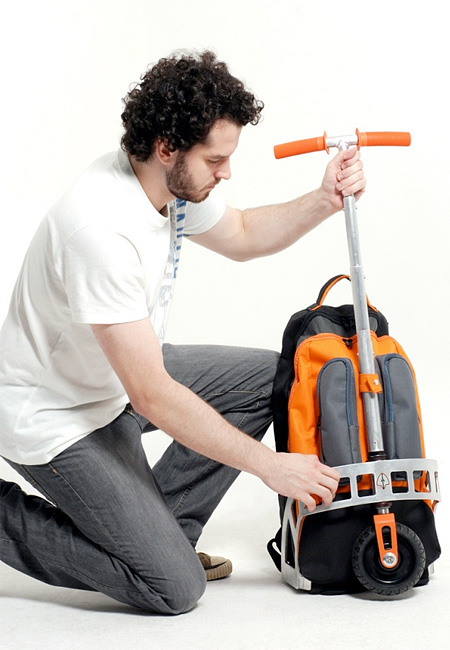 Backpack Scooter Concept