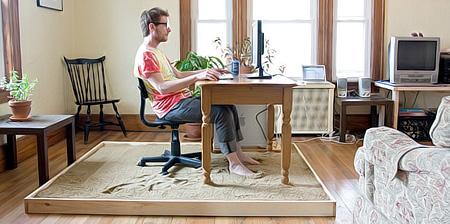 Sandy Beach Home Office