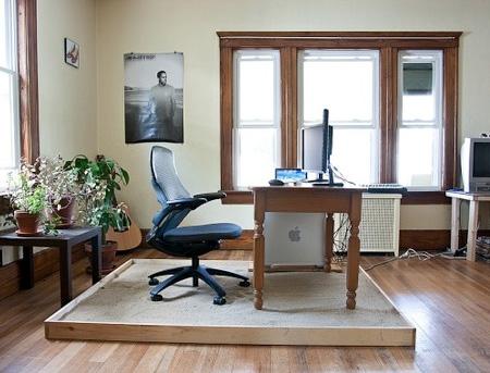 Beach Home Office