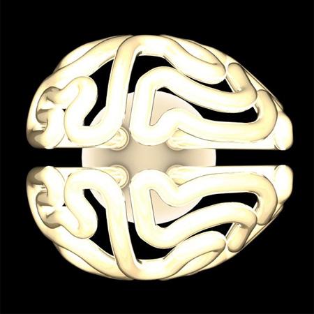 Brain Shaped Lamp