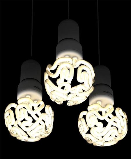 Brain Shaped Light Bulb