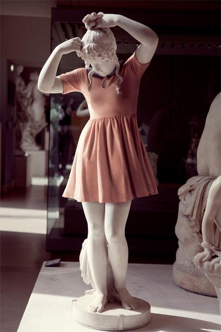 Dressed Statues