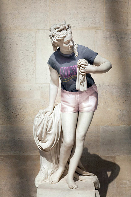 Statues Dressed Like Hipsters