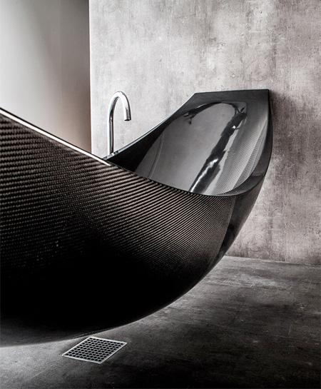 Carbon Fiber Hammock Bathtub