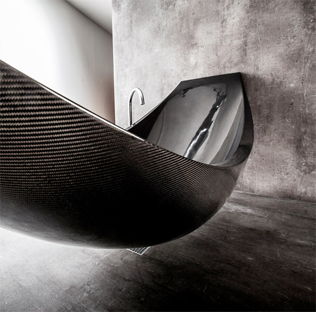 Carbon Fibre Hammock Bathtub