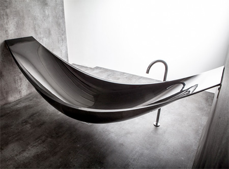 Suspended Bathtub