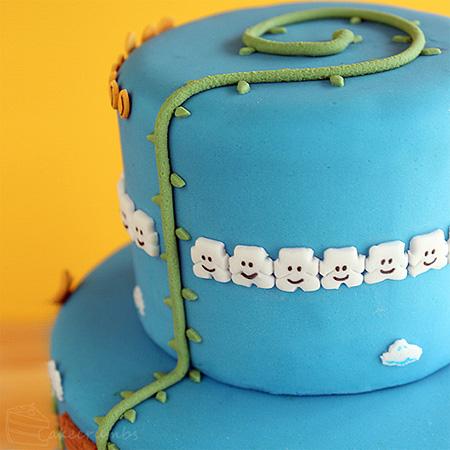 Super Mario Inspired Cake