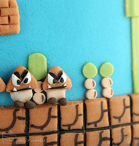 Super Mario Bros Themed Cake