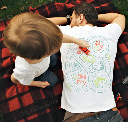 Playtime Back Massage T-Shirt