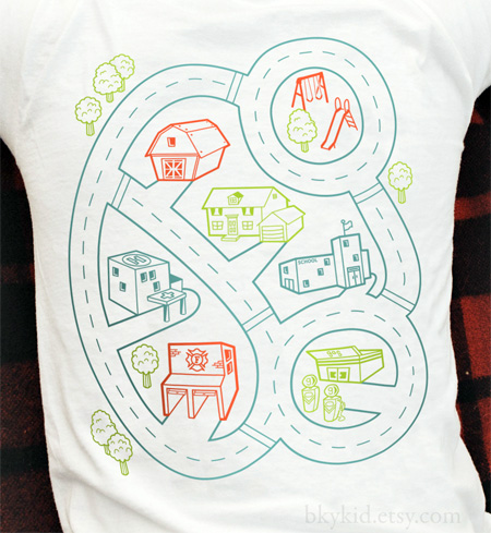 Playmat Back Massage T-Shirt