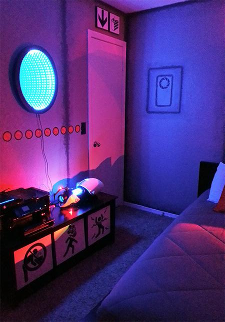 Portal 2 Themed Room