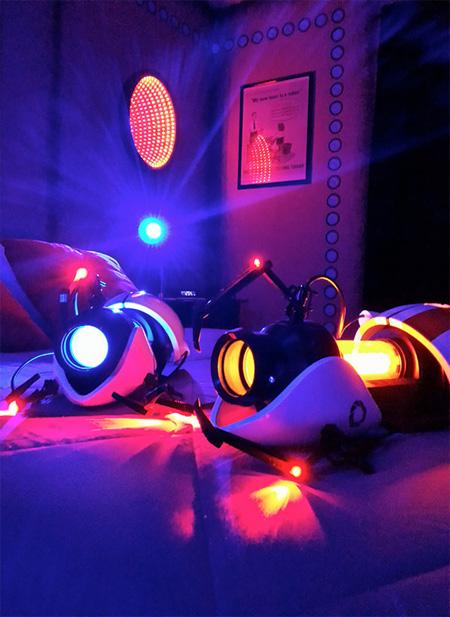Portal 2 Inspired Room