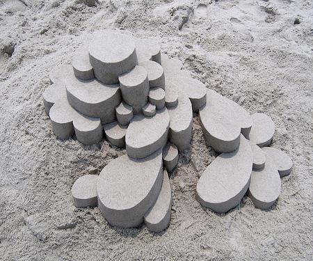 Modern Sand Sculpture
