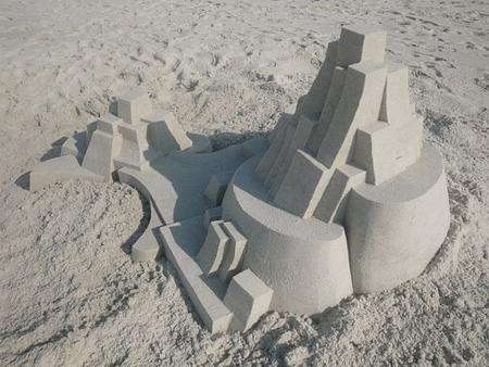 Sand Architecture by Calvin Seibert
