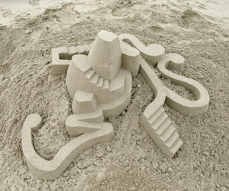 Sand Castle by Calvin Seibert