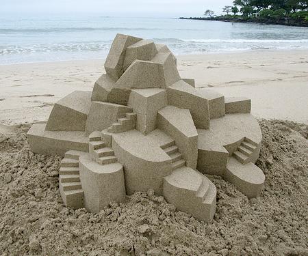Sand Castles by Calvin Seibert