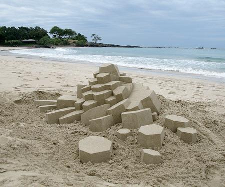 Sand Sculpture by Calvin Seibert