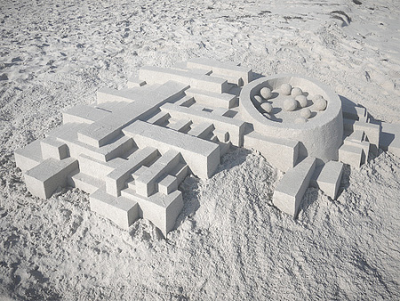 Sand Sculptures by Calvin Seibert