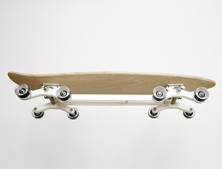 Eight Wheeled Longboard