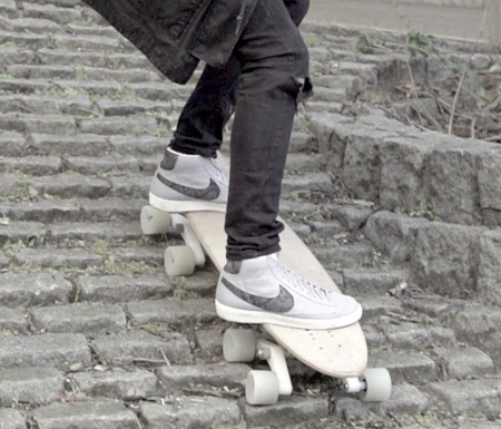 Eight Wheel Skateboard