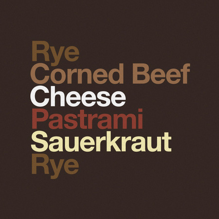 Typography Food