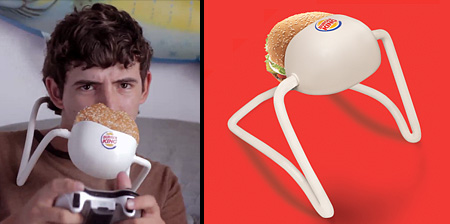 Hands Free Whopper Holder