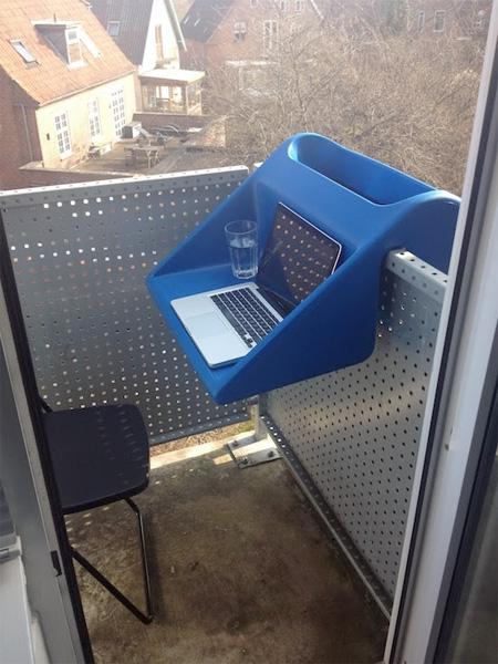 Balcón de estación de trabajo