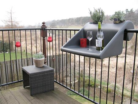 Balcón Mesa de café