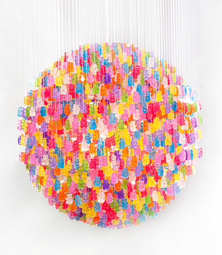 Gummy Bears Chandelier