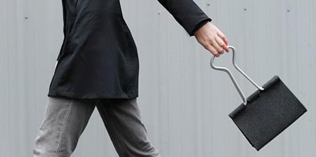 Paper Clip Handbag