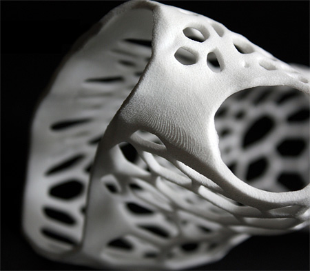 Jake Evill 3D Printed Cast