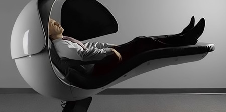 Sleeping Pod for Power Naps