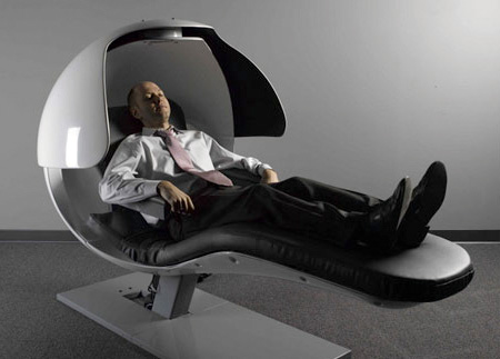 Sleep In The Office Napping Chair Metronaps Energypod