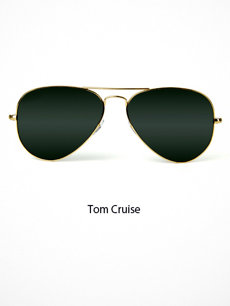 Tom Cruise Eyeglasses