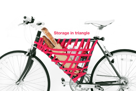 Bike Frame Storage
