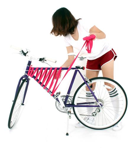 Bicycle Frame Basket