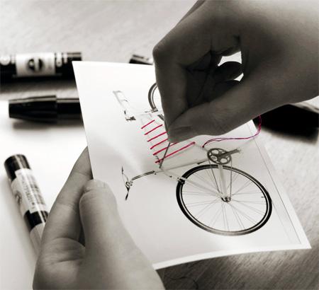Bike Frame Basket