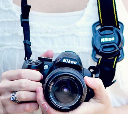 Lens Cap Camera Strap Holder