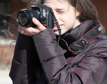 Camera Buckle Lens Cap Holder