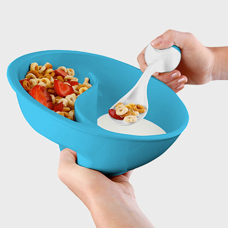 Milk and Cereal Bowl