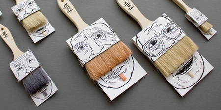 Creative Paintbrush Packaging