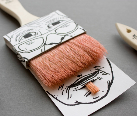 Paintbrush Beard